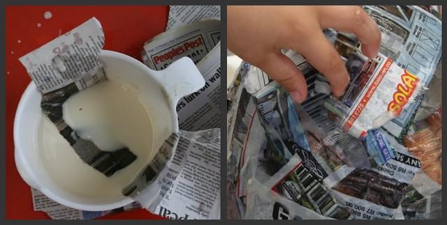 making a pinata