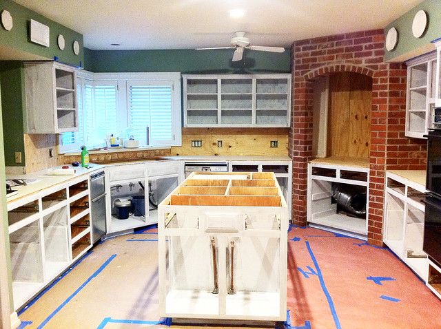 Zesty Nest Kitchen Reno Process 5