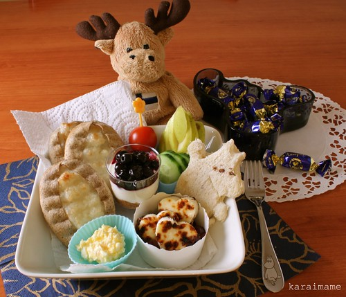 Little snack meal for Finland´s Independence Day