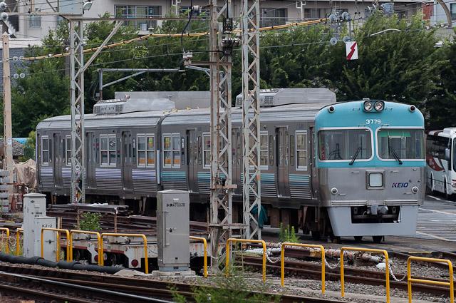 京王電鉄井の頭線 3000系 クハ3779・クハ3719搬出 0720