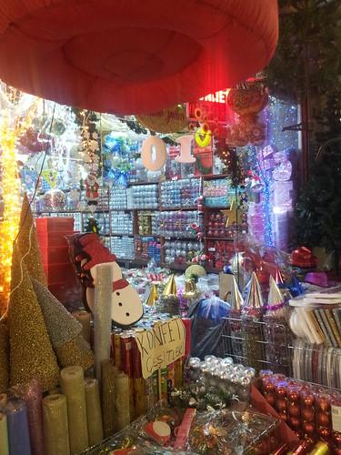 Karácsonyfadísz-bolt