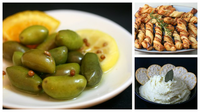 3 holiday antipasti