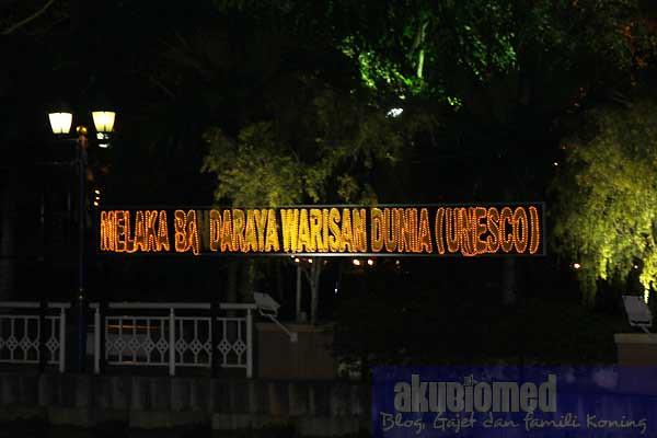 Pengiktirafan Unesco Melaka sebagai bandaraya warisan dunia
