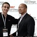 TEDx San Diego founder Jack Abbott with Dwayne Gathers    MG 3773
