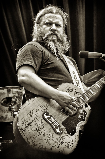 Jamey Johnson at Farm Aid 2011