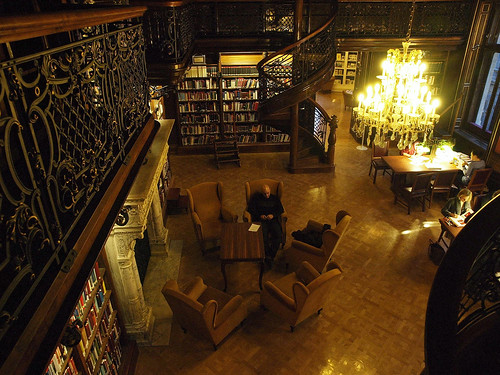 Ervin Szabó Central Library - reading room