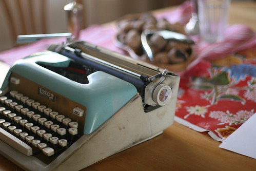 Thrifted Typewriter