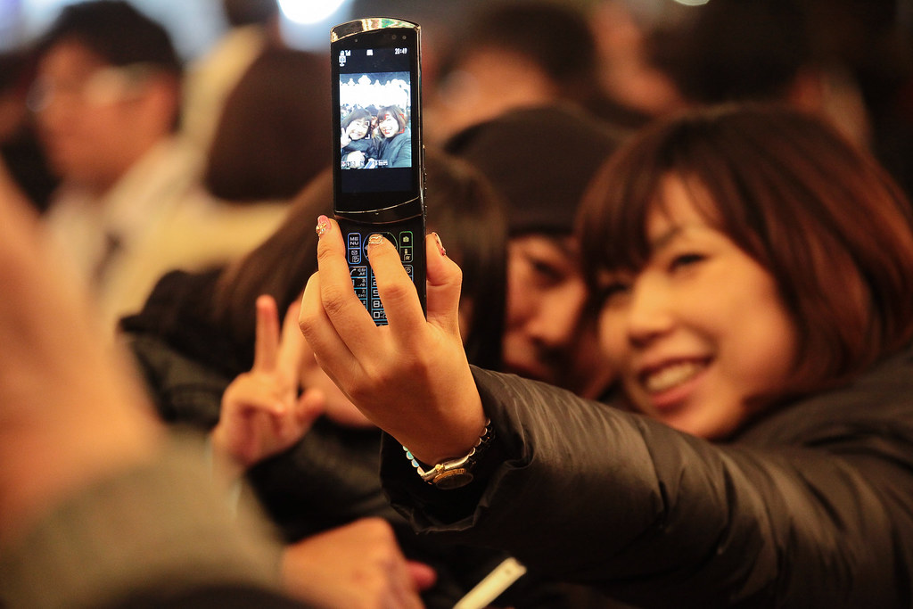 People at Kobe Luminarie 2011