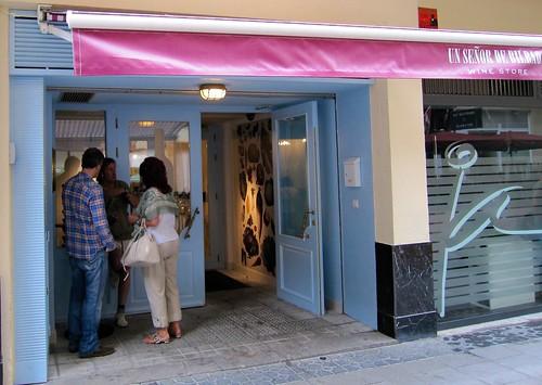 Entrada al restaurante Un Señor de Bilbao