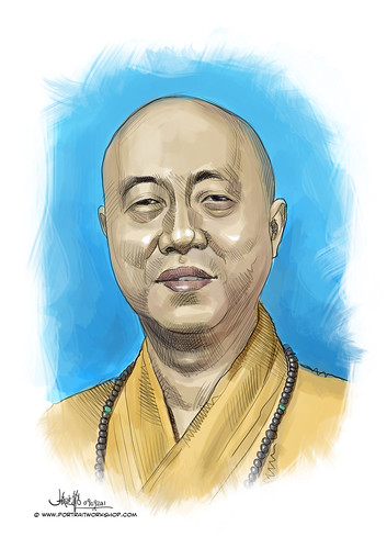 digital portrait of BBM-Ven Shi Fa Zhao