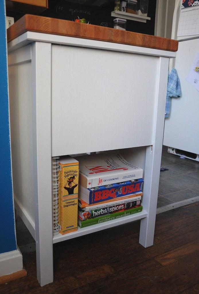 cookbooks on new cart