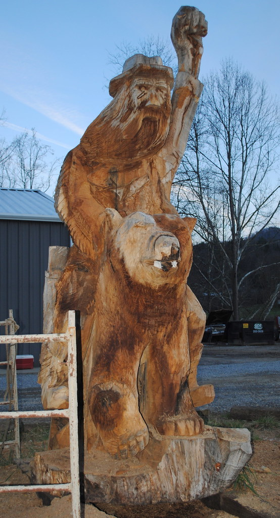 Most awesome chainsaw carving ever flickr photo sharing