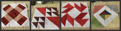 red quilt blocks 2011