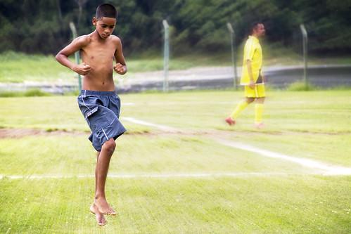 Quem não sonhou em ser um jogador de futebol? by .Tatiana.