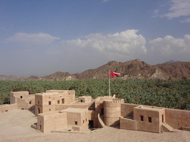 Castelo de Samail Omã