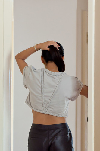 DIY Braided Crop Top