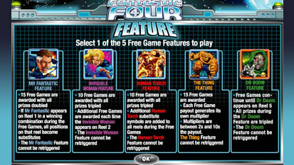 Fantastic Four free spins