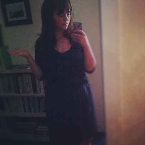 How is it even this dark?? #dressember day 16 (no repeat yet!)
