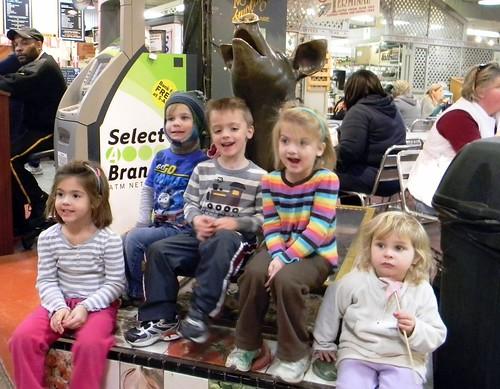 kids @ Reading Terminal Market