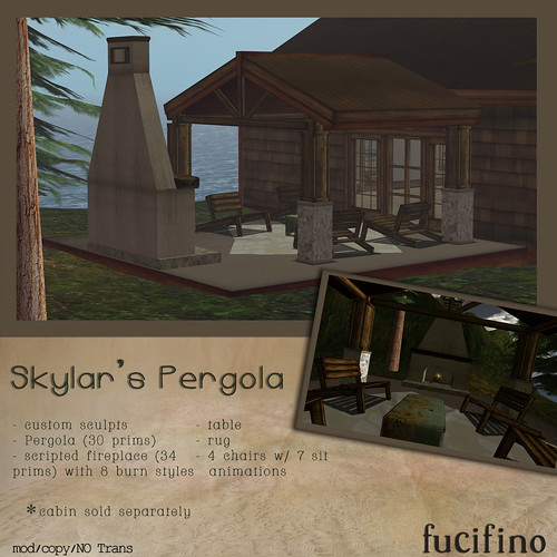 fucifino.Skylar's Pergola for the Designer's Challenge