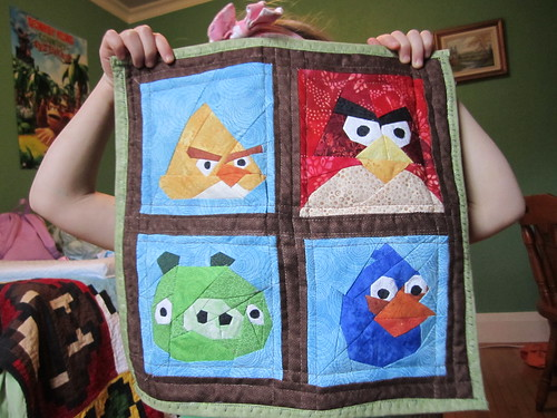 Angry Birds Wallhanging
