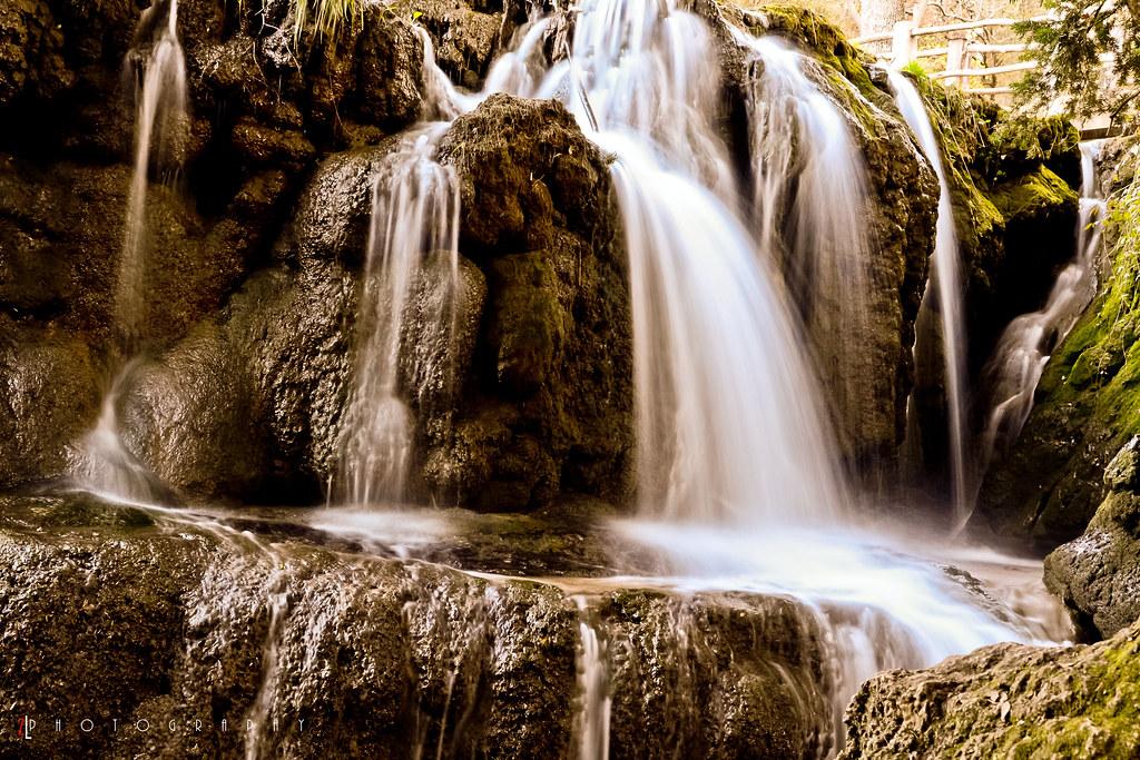 Vittel waterfalls