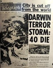 El cicló Tracy que va arrassar Darwin l'any 1975