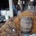 Bagazo de maguey después de la fermentación - residual of maguey after fermentation; Santiago Matatlán, Oaxaca, Mexico por Lon&Queta