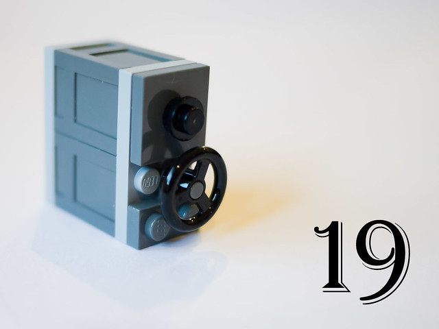 LEGO City Advent Calendar 2011 - Day 19: The safe