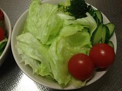 朝食サラダ(2011/12/19)
