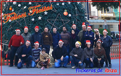 Felices fiestas flickeras.