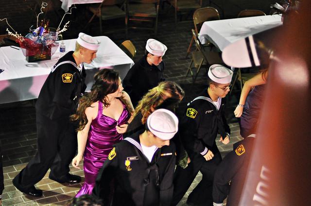 Military Ball 2011 group dancing smitten
