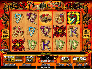 Noughty Crosses slot game online review