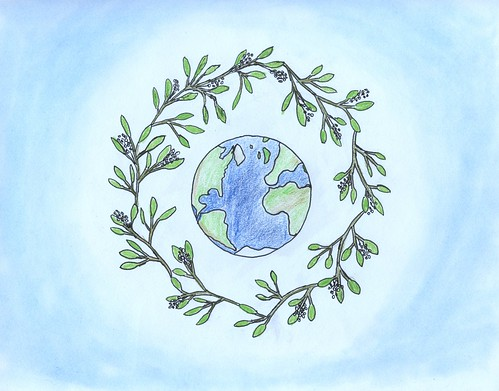 earth wreath