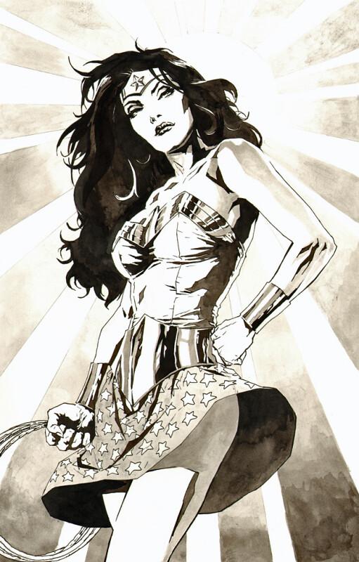 Desenhos Nerds - Mulher Maravilha