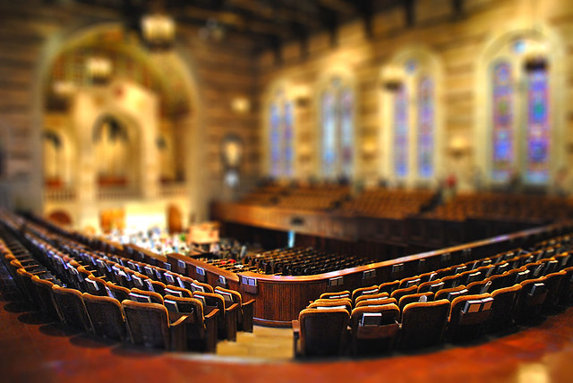 Sanctuary tilt-shift