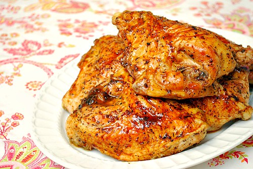 Apple-Maple Glazed Chicken