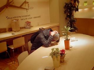 リナカフェ通常営業最終日