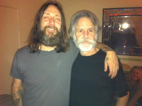 Chris Robinson and Bob Weir by Twilight Double Leader