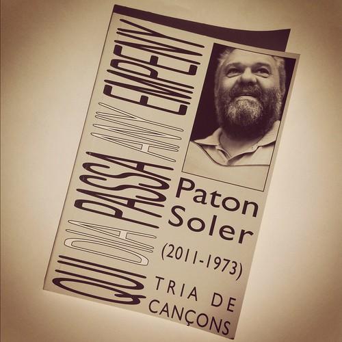 Qui dia passa any empeny - Paton Soler