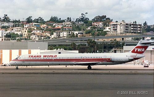McD DC-9-82 TWA N903TW