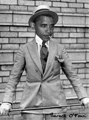 BARACK O'PONZI by Colonel Flick