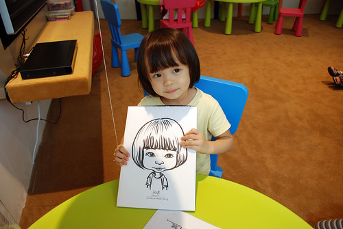 caricature live sketching for Forestque Residence (Wing Tai) - Day 1 - 1