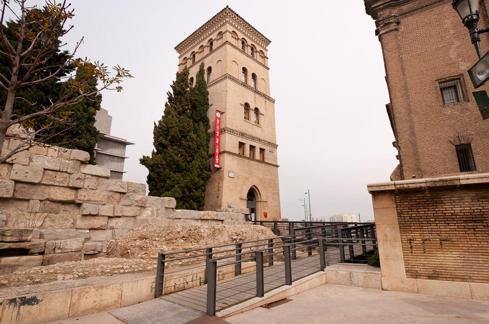 torre n de la zuda oficina de turismo de zaragoza
