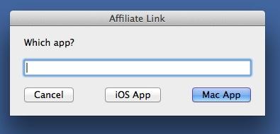 Affiliate link getter