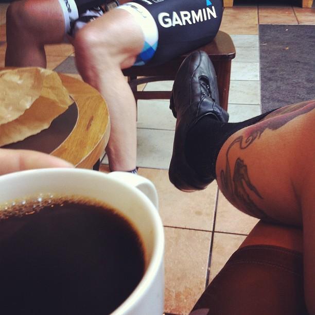 Coffee kinda helps. #festive500