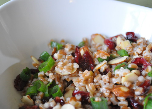 Wheatberry-Salad-with-cranberries-and-almonds