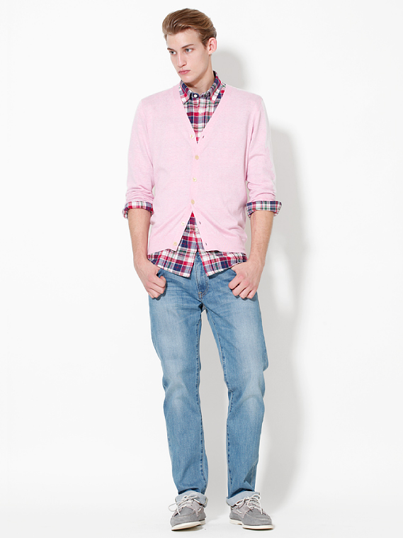 UNIQLO EARLY SPRING STYLE FOR MEN 2012_006Henrry Evans