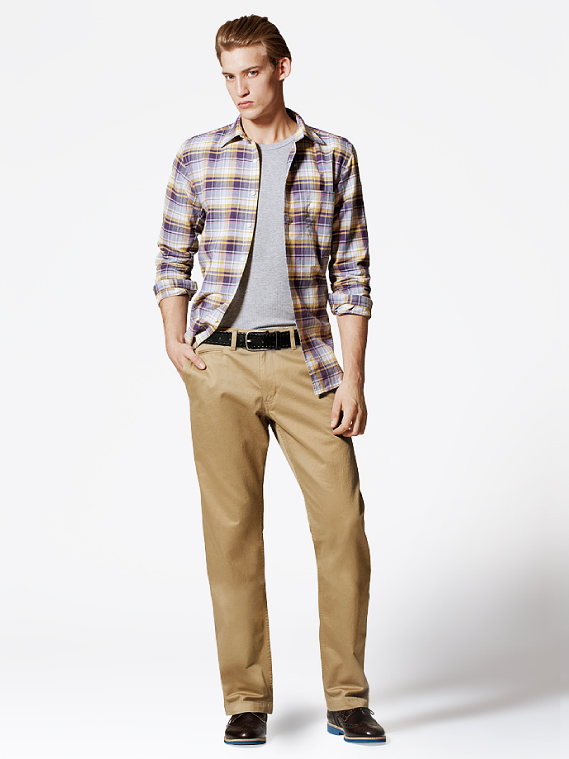 UNIQLO EARLY SPRING STYLE FOR MEN 2012_008Henrry Evans