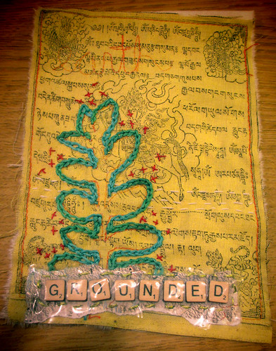 prayer flag #19 Grounded